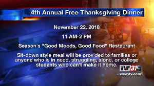 Free Thanksgiving Dinner [Video]