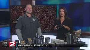 Happy National Espresso Day! [Video]