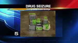 Nearly $1 Million in Drugs Seized at Pharr International Bridge [Video]