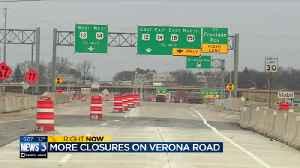 Daytime, nighttime lane closures expected on Verona Road as crews wrap up 2018 season [Video]