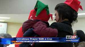 Christmas Prayer With a Cop [Video]