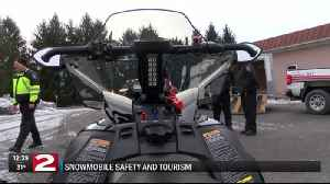 Oneida County to help keep riders safe with brand new snowmobiles [Video]