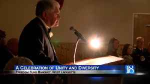 Freedom Fund Banquet is a celebration of unity and diversity [Video]