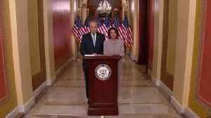 The Democratic response to President Trump's speech [Video]