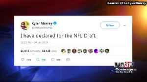 Kyler Murray Enters Draft [Video]