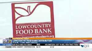 Lowcountry Food Bank Distribution [Video]