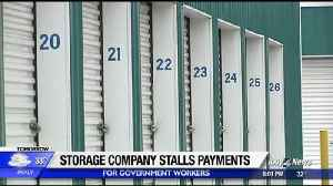 Storage company stalls payments for federal workers [Video]