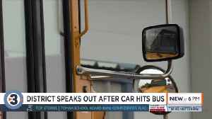 After fourth school bus in two years is hit by reckless driver, Beloit Turner leaders ask for change [Video]