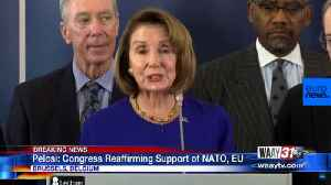 Congress Reaffirming Support of NATO, EU [Video]