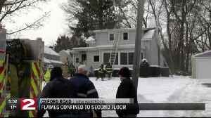 House fire, water main break kept New Hartford crews busy Tuesday [Video]