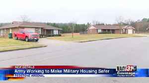Army Working to Make Military housing Safer [Video]