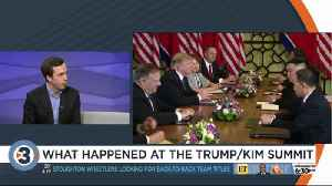 What happened at the Trump, Kim summit [Video]
