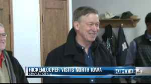 Hickenlooper stops in North Iowa [Video]