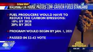 Washington State house passes carbon reduction bill [Video]