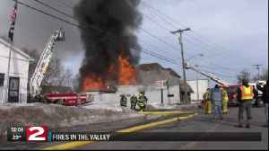 Two displaced following Herkimer bar fire on South Washington Street [Video]