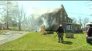 VIDEO Fire damages more than 100-year-old home in Oley Township [Video]