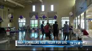 High school students host Relay for Life [Video]