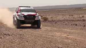 Toyota Gazoo Racing - Test Day in Marocco [Video]