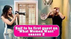 News video: Saif Ali Khan to be first guest on Kareena's