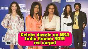 Chopra sisters-Priyanka, Parineeti dazzle on NBA India Games 2019 red carpet [Video]