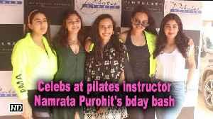 Sonakshi, Sara and Janhvi at pilates instructor Namrata Purohit's bday bash [Video]