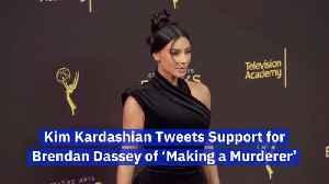 Kim Kardashian Shares Her Support For Brendan Dassey [Video]