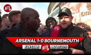 Arsenal 1-0 Bournemouth | Judge Emery When We're Playing With A Full Strength Team! (Johnny) [Video]