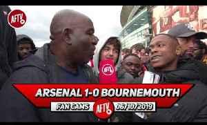 Arsenal 1-0 Bournemouth | Aubameyang's Feeding Off Of Scraps!! (Deluded Gooner) [Video]