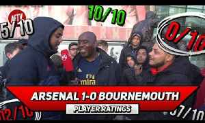 Arsenal 1-0 Bournemouth | Emery Is Building For The Future! Player Ratings Ft Troopz & Livz [Video]