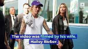 Justin Bieber Mocks Taylor Swift's Post-Surgery Video [Video]