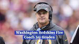 Coach Jay Gruden Is Out At Washington Redskins [Video]