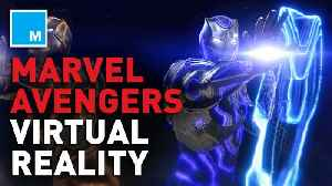Marvel reveals an 'Avengers' virtual reality experience to soon be released [Video]
