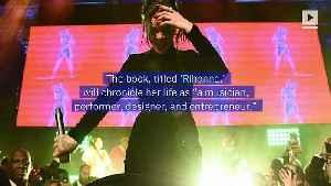 Rihanna Announces New Book [Video]