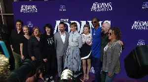 News video: The Addams Family movie - World Premiere at Westfield Century City