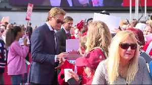 Red Wings host red carpet walk prior to home opener [Video]