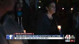 Remembering mass shooting victims [Video]