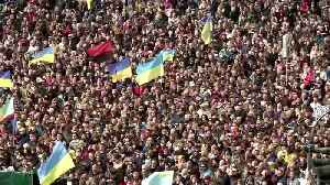 Thousands rally in Kiev to protest autonomy plan for eastern Ukraine [Video]