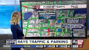 Rays traffic, parking info for game against Astros at Tropicana Field [Video]