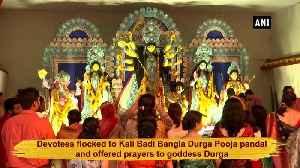 Bhopal celebrates Durga Ashtami with religious fervour [Video]