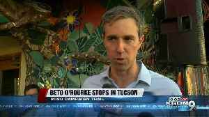 Beto O'Rourke in Tucson [Video]