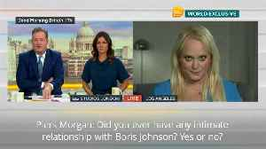 News video: Jennifer Arcuri refuses to rule out affair with Boris Johnson