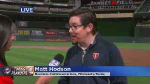 News video: Twins-Yankees Comes To Target Field For Game 3