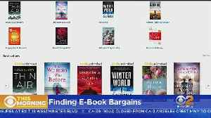 CNET Tech Minute: Several Services Offer Regular Sales On E-Books [Video]
