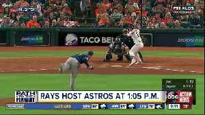 News video: Charlie Morton, Rays try to prevent the Astros from sweeping ALDS