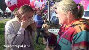 Balloon Fiesta engagement [Video]