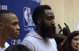 "Houston Rockets' Harden says ""we love China"" after GM Hong Kong tweet [Video]"