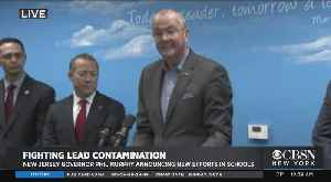 Gov. Murphy Announces Plan To Fight Lead In Schools [Video]