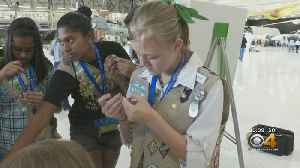 Lockheed Martin Partners With Girl Scouts For Aerospace Lesson [Video]