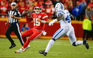 News video: Patrick Mahomes Injures Ankle in Chiefs' Loss to Colts