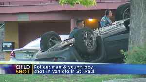 Man, Child Shot In St. Paul Shooting; Man Later Dies [Video]